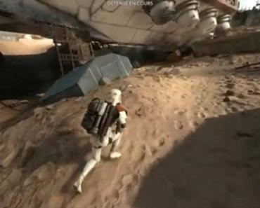 Extrait Star Wars Battlefront pour consoles de jeu