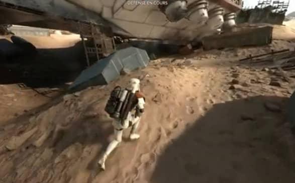 Extrait Star Wars Battlefront pour console de jeu