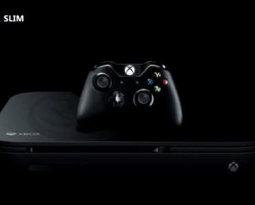 Sortie Xbox One Slim 2016