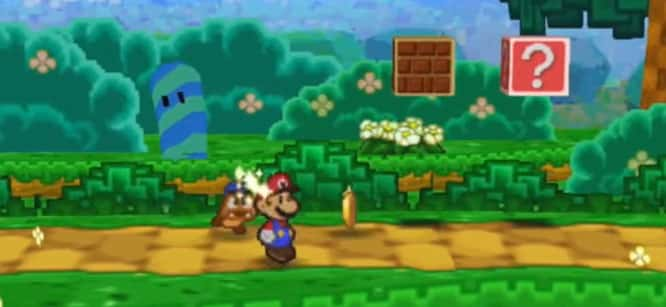 annonce paper mario sur wii u. Black Bedroom Furniture Sets. Home Design Ideas