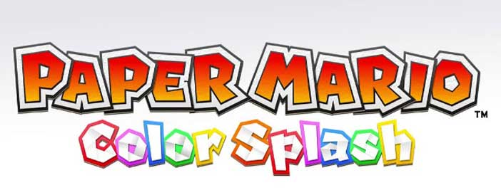 Wii U, Color Splash, Paper Mario