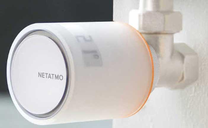 Robinet thermostatique Netatmo