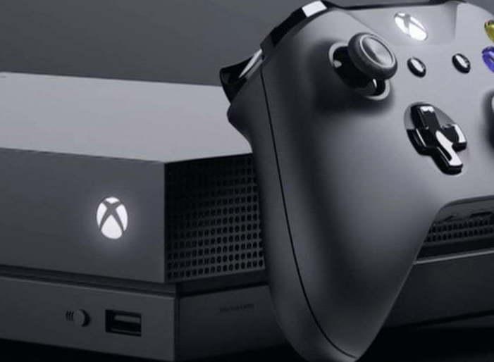 Microsoft, Xbox One, Xbox One X Scorpio Edition