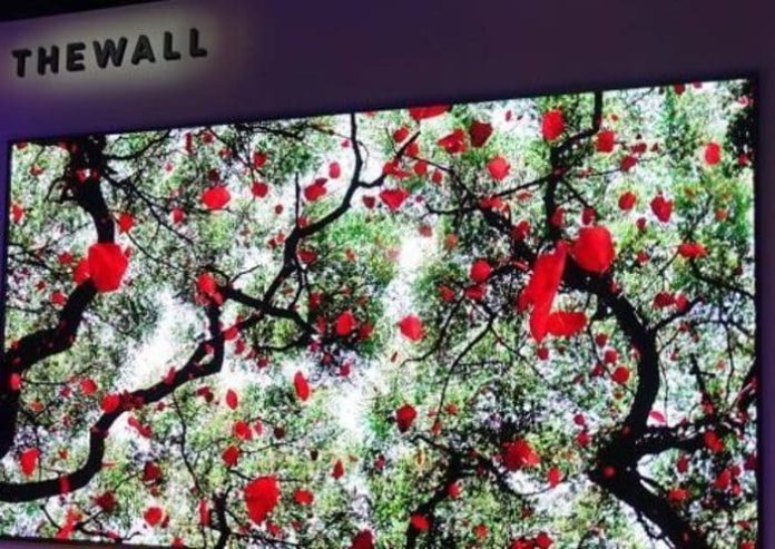 High Tech, TV OLED 4K, Samsung The Wall