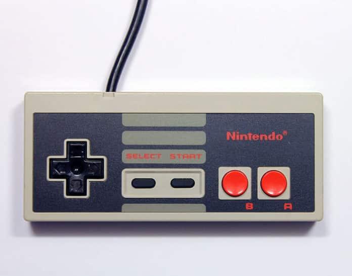 manette Nintendo NES, console rétro