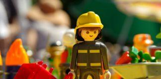 Playmobil jouet pompier