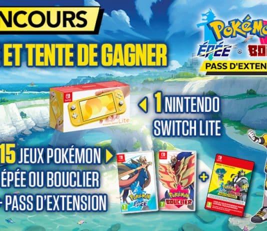 participez au concours Nintendo Pokemon Epee et Bouclier
