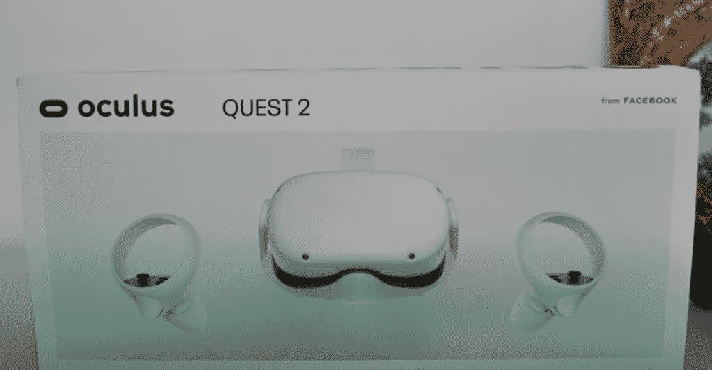 emballage Oculus Quest 2