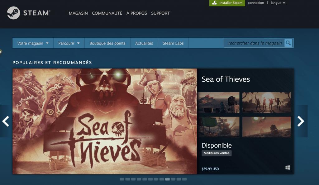 acheter des jeux Oculus Quest sur Steam