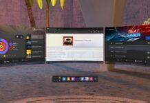 mise à jour accessibilité Oculus Quest